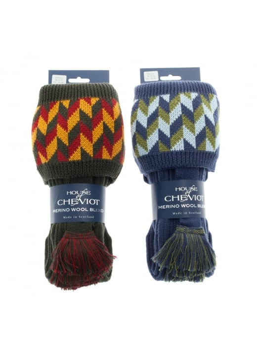 House of Cheviot Harlequin Socks and Garters