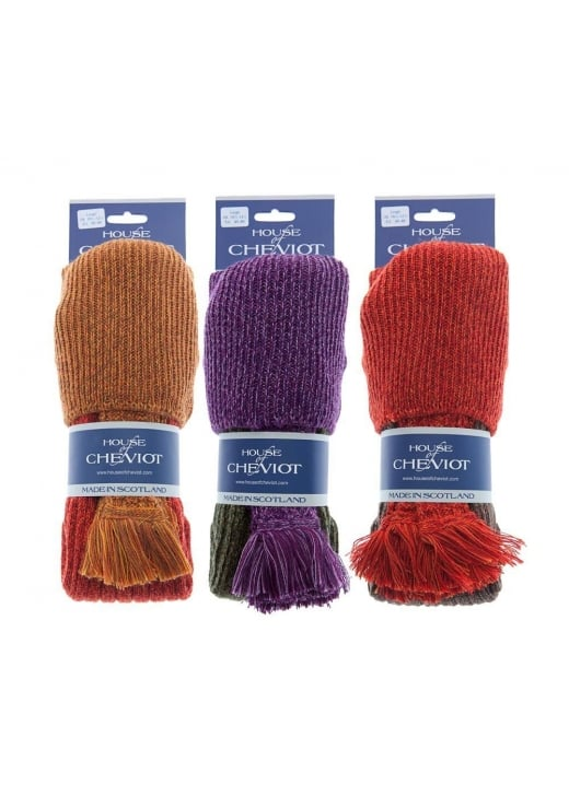 House of Cheviot Lomond Marl Socks and Garters
