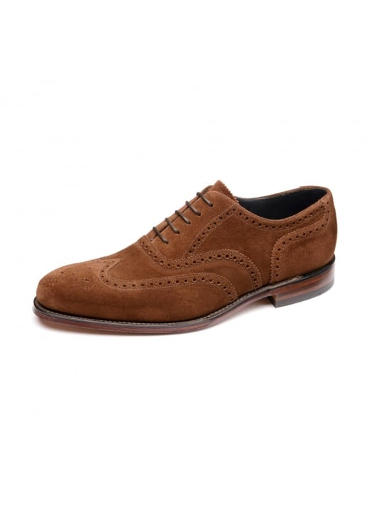 Loake Inverness Suede Oxford Brogues