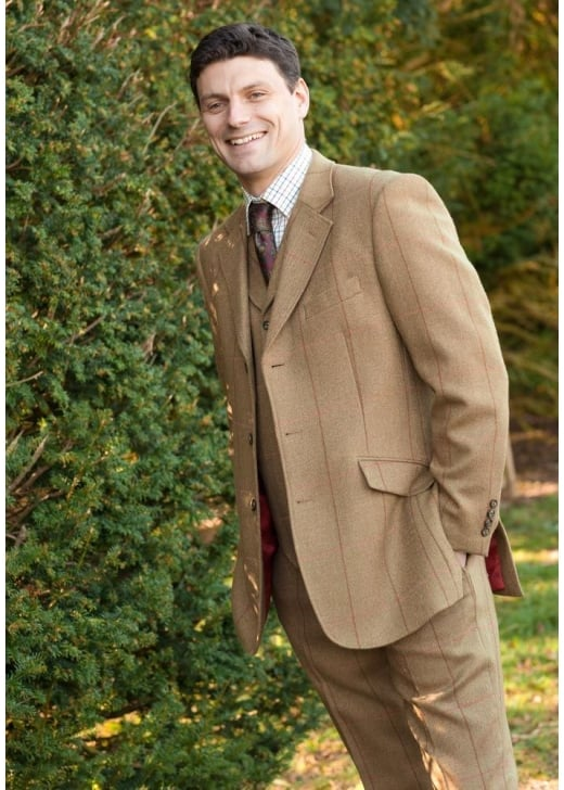 Brook Taverner Inverness Tweed Jacket