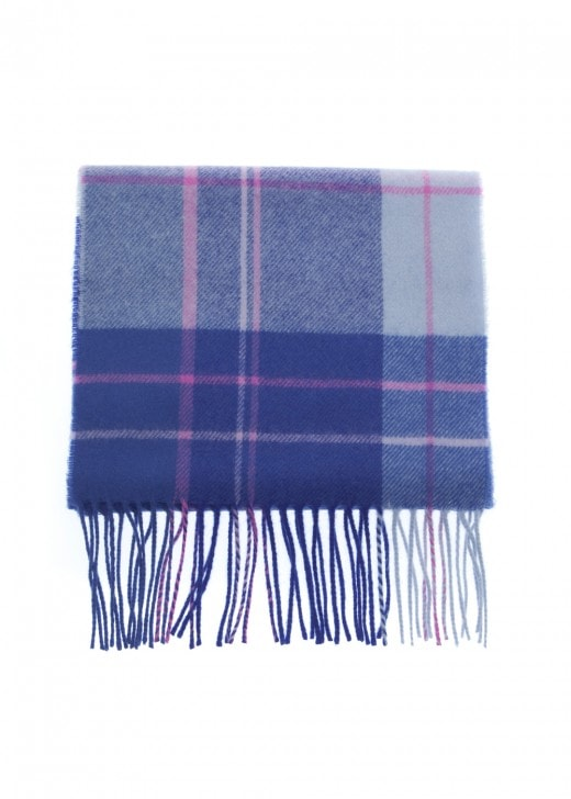 Johnstons of Elgin Lambswool Check Scarf