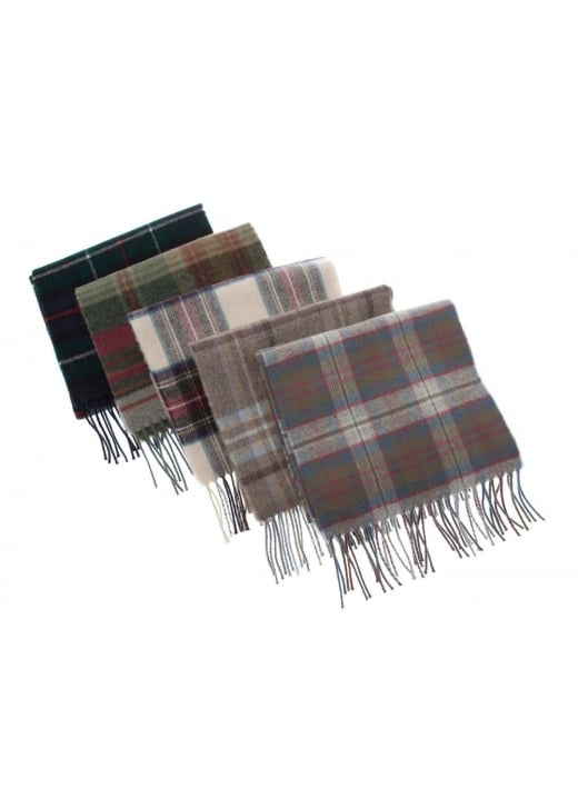 Johnstons of Elgin Lambswool Tartan Scarf