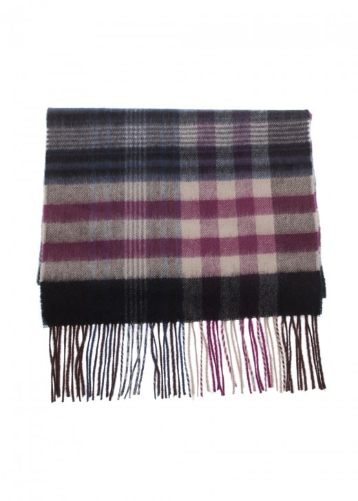 Johnstons of Elgin Sport Check Scarf