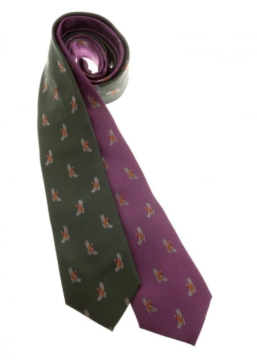 Laksen Glorious 12th Grouse Tie
