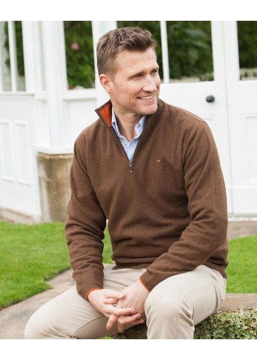 Laksen Wilton Quarter Zip