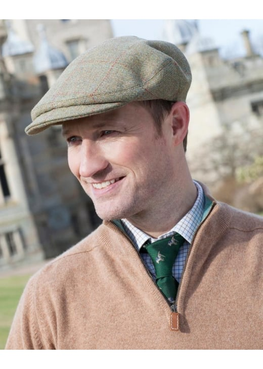 A Hume Lambden Turnberry Tweed Cap