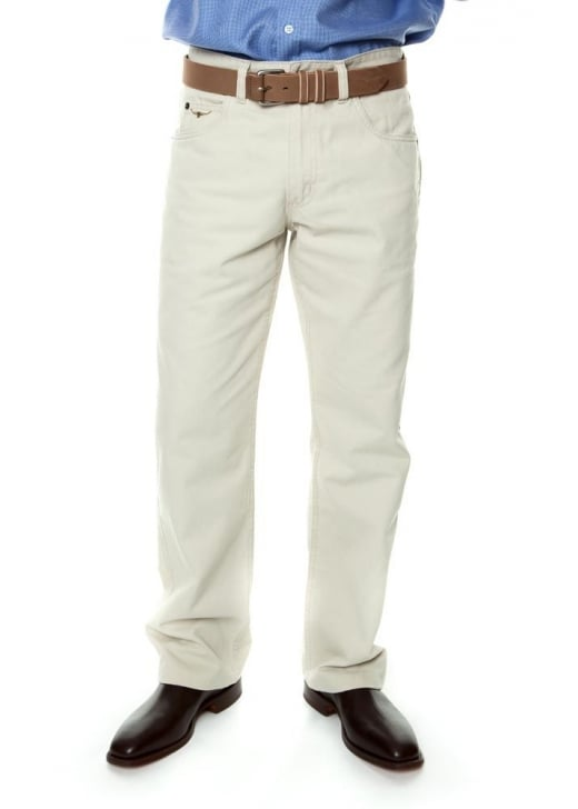 RM Williams Linesman Regular Fit Drill Jeans