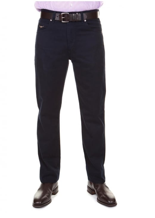 RM Williams Linesman Slim Fit Drill Jeans