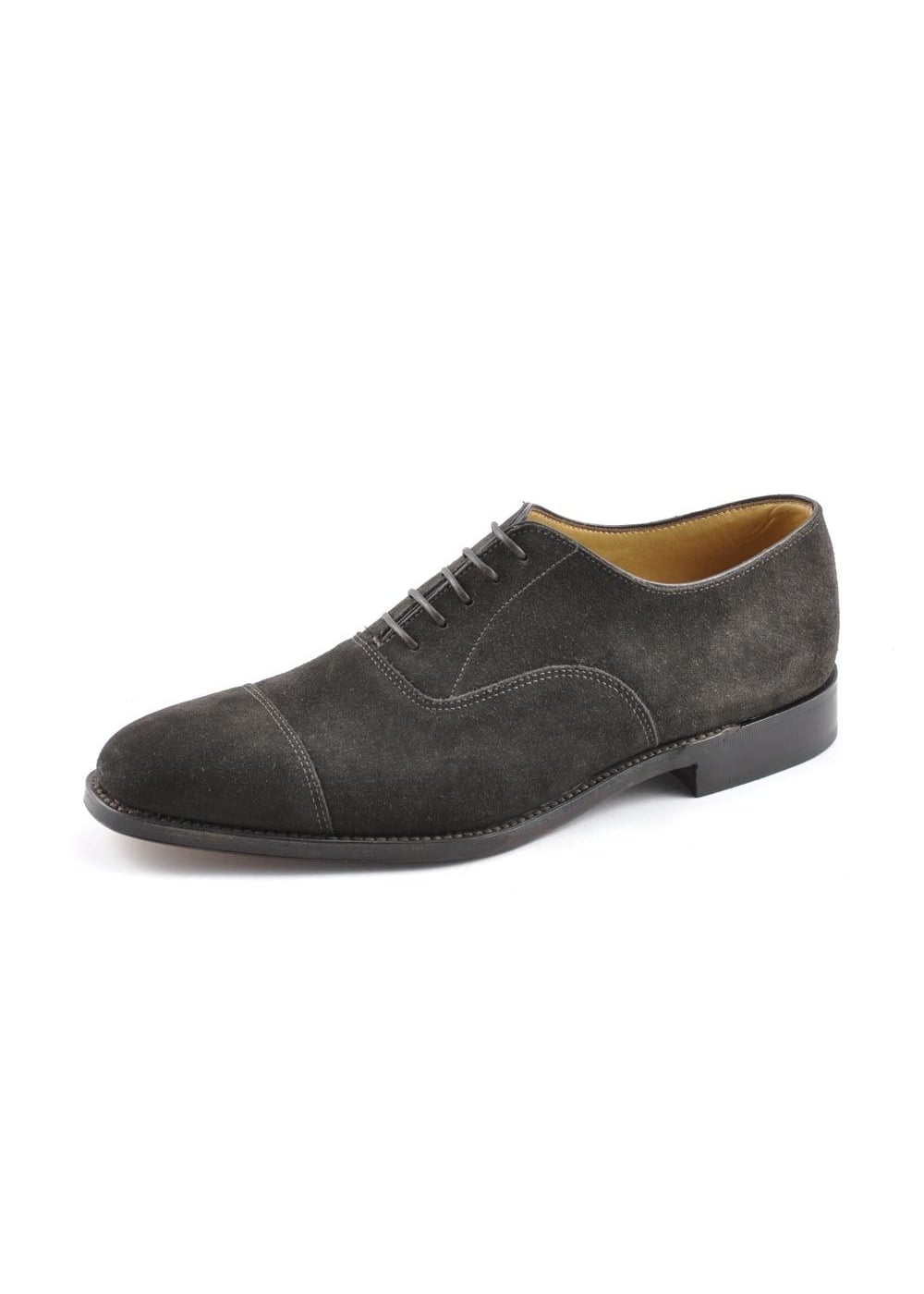 Loake Aldwych Suede Shoes Large Image