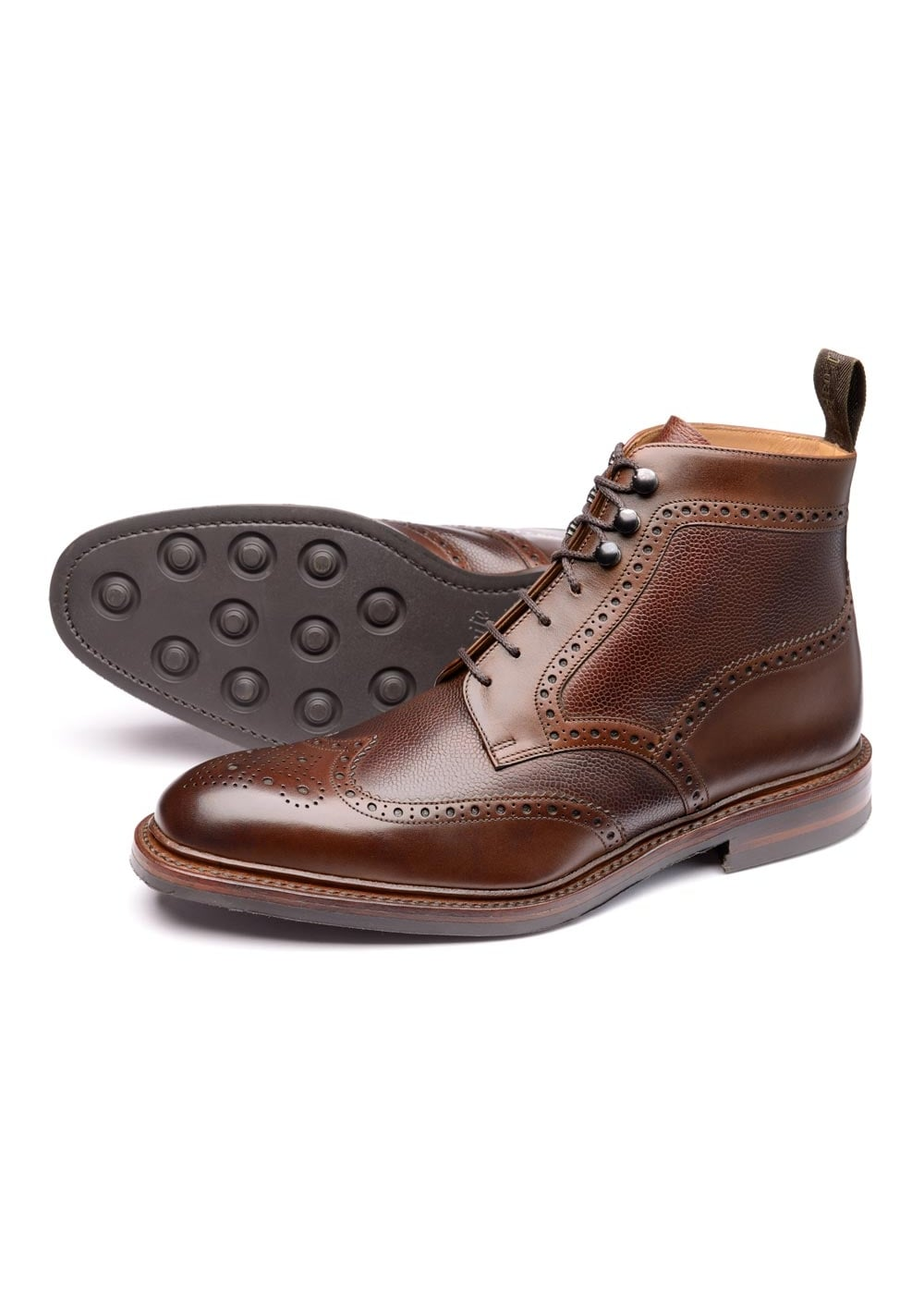 Loake Bosworth Brogue Boot NEW Large Image