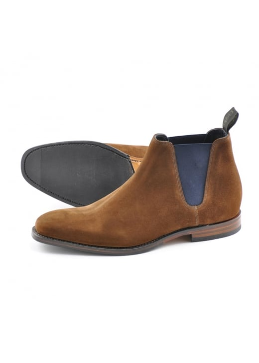 Loake Caine Suede Chelsea Boot