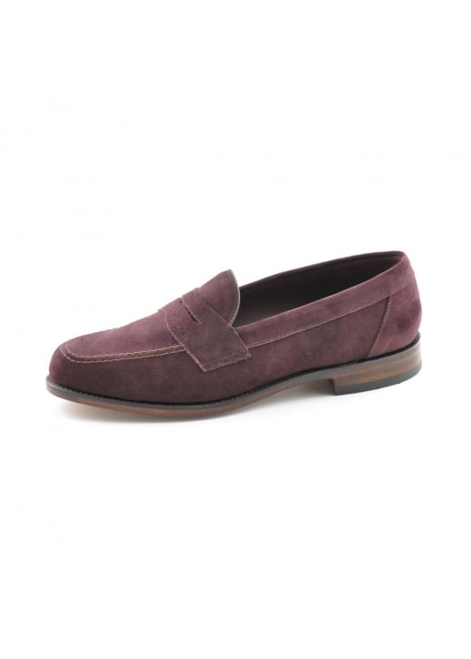 Loake Eton Suede Saddle Loafer