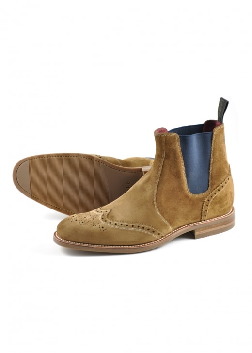 Loake Hoskins Suede Boots