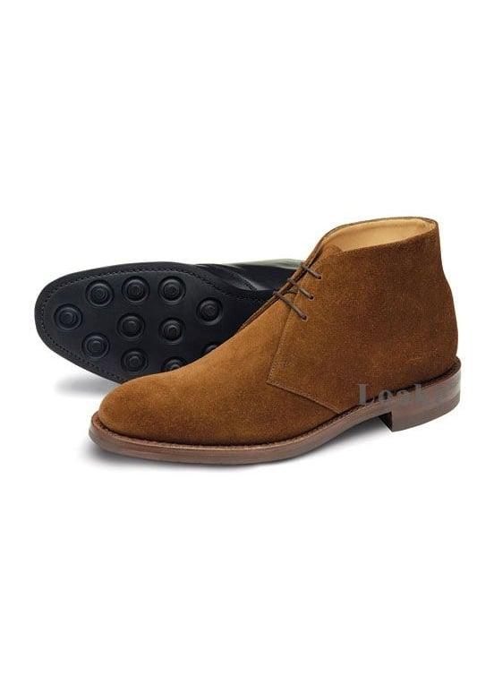 Loake Kempton Suede Chukka Boots Large Image
