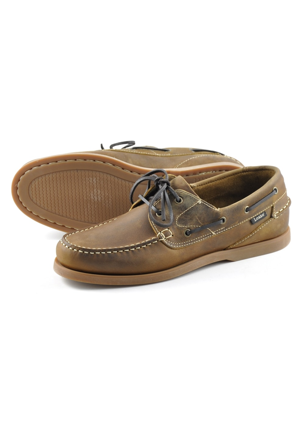 a189bb6ff Loake Lymington Boat Shoes - Mens from A Hume UK
