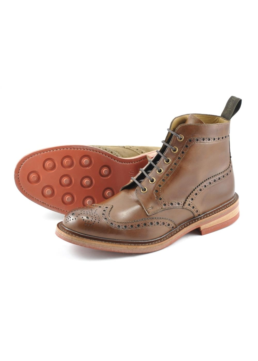 Loake Wharfdale Brogue Boot NEW Large Image