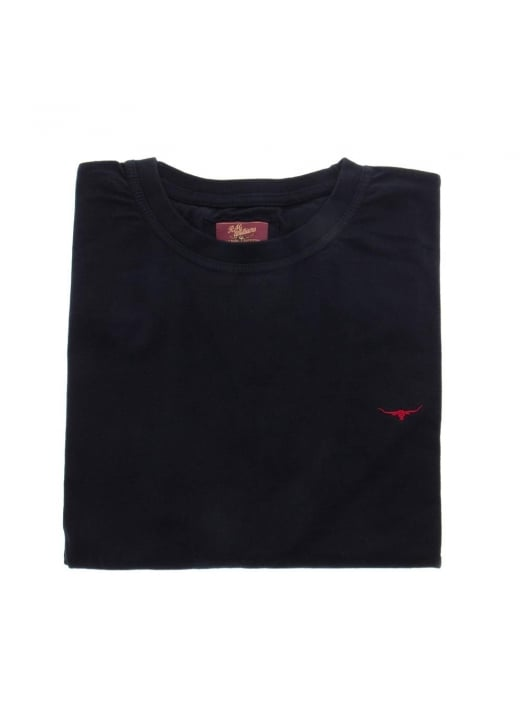 RM Williams Logo Embroidered T Shirt
