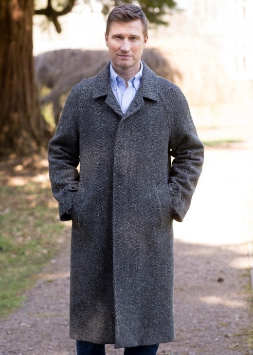 Magee Corrib Quilted Overcoat