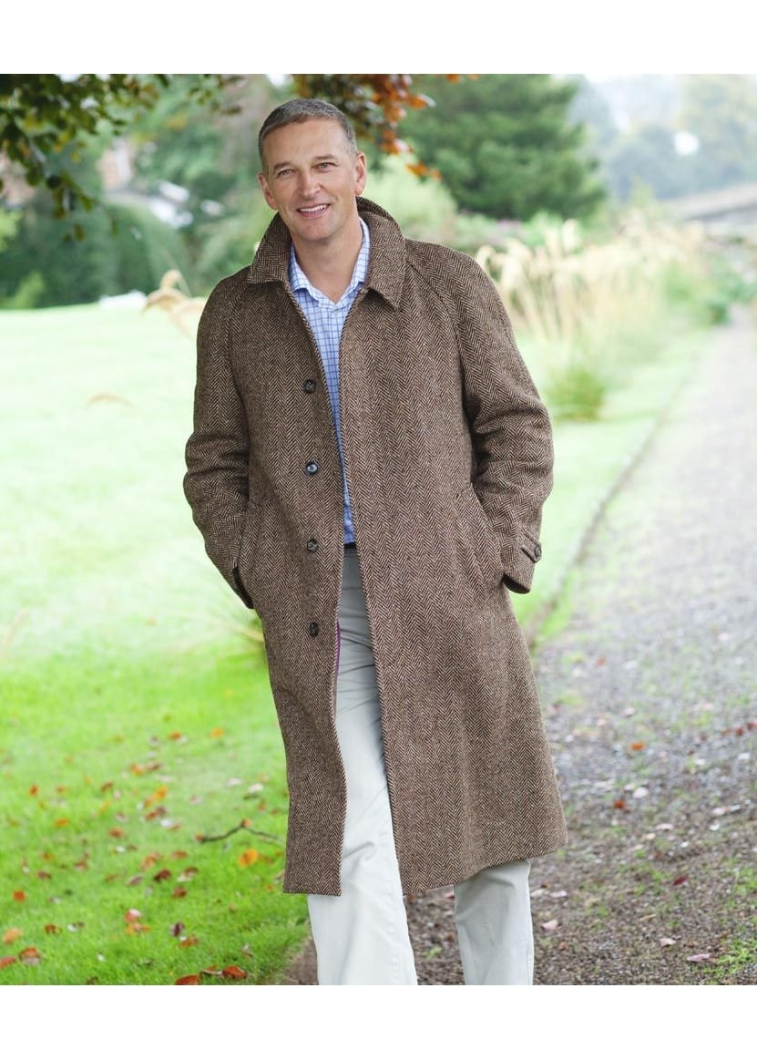 Magee Donegal Corrib Tweed Overcoat Large Image