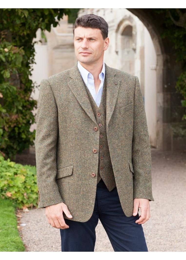 Magee Donegal Tweed Jacket  Large Image