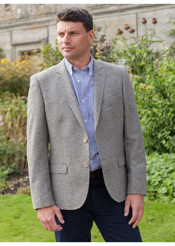 Magee Mid Weight Tweed Jacket  Large Image