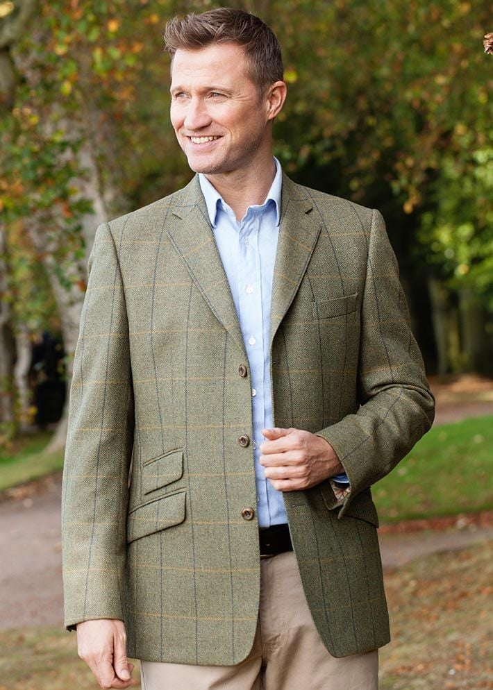 Magee Midweight Tweed Sports Jacket  Large Image