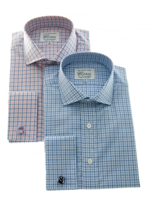 Cleeve of London Mid Gingham Checked Shirt