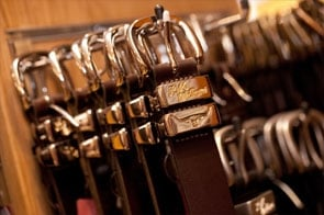 Leather Belts and Buckles