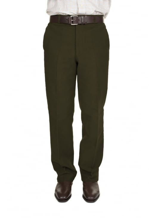 Brook Taverner Moleskin Trousers