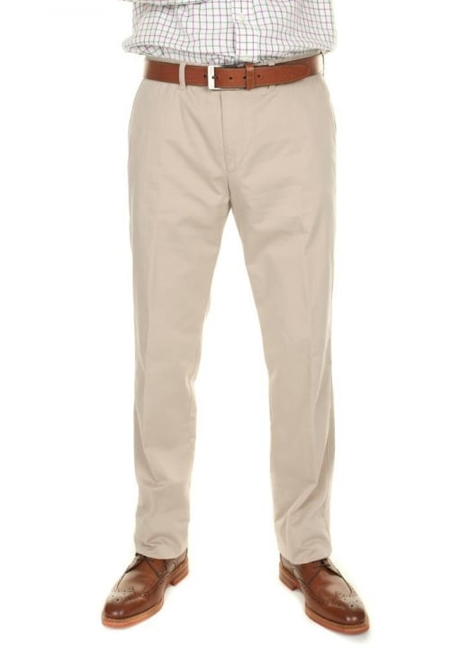 Brax Natural Kapok Evans Trousers