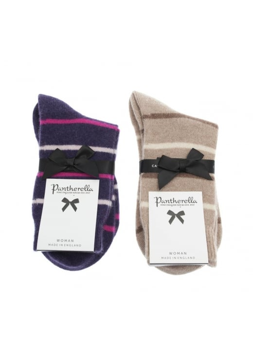 Pantherella Serena Stripe Socks