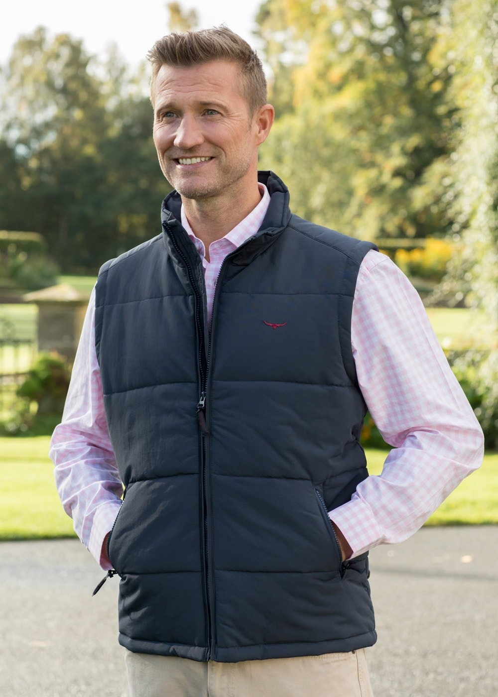 Rm Williams Patterson Creek Vest Mens From A Hume Uk