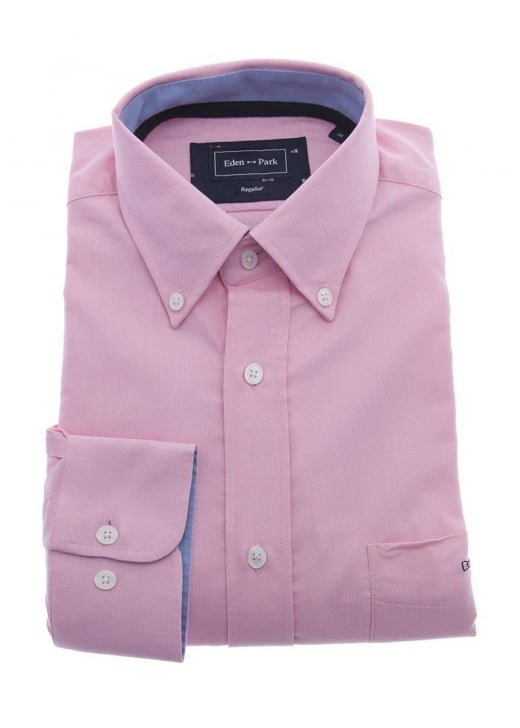 Eden Park Plain Oxford Shirt