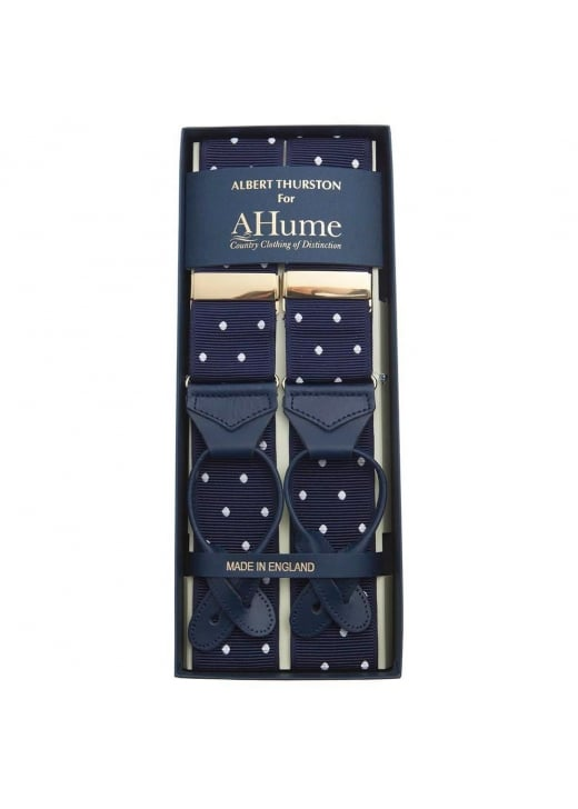 Albert Thurston Polka Dot Braces
