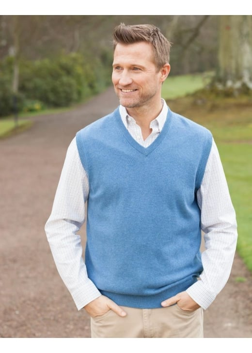 Schoffel Sleeveless V-Neck Jumper