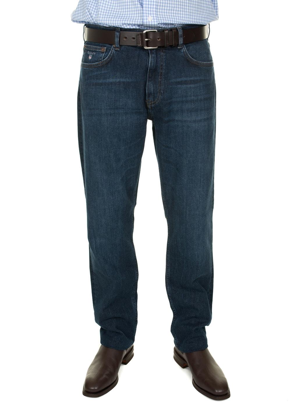 380122021 Gant Regular Gant Jean - Mens from A Hume UK
