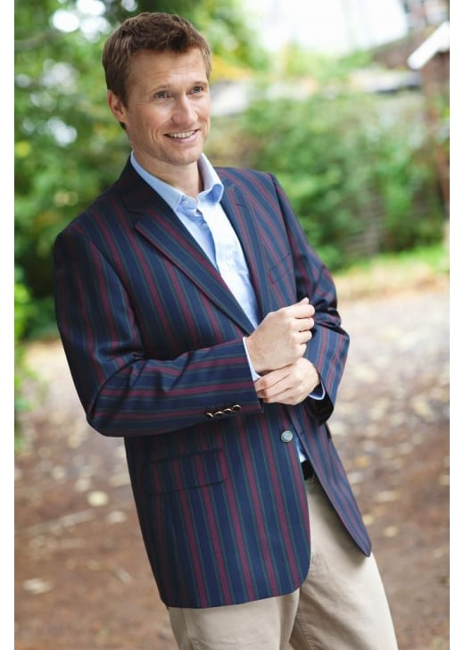 Brook Taverner Richmond Striped Blazer