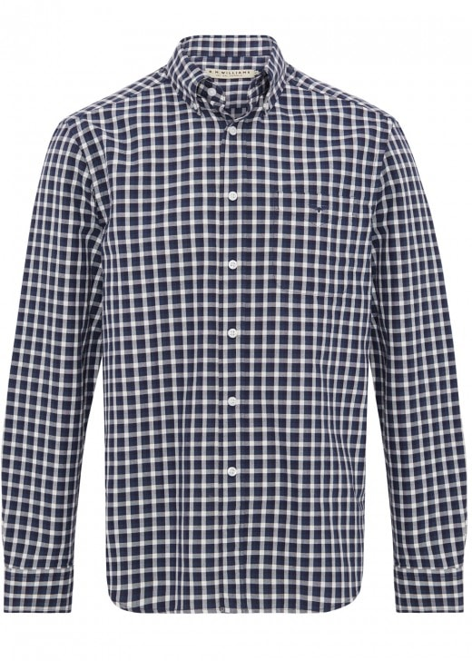 RM Williams Collins Oxford Button Down Shirt