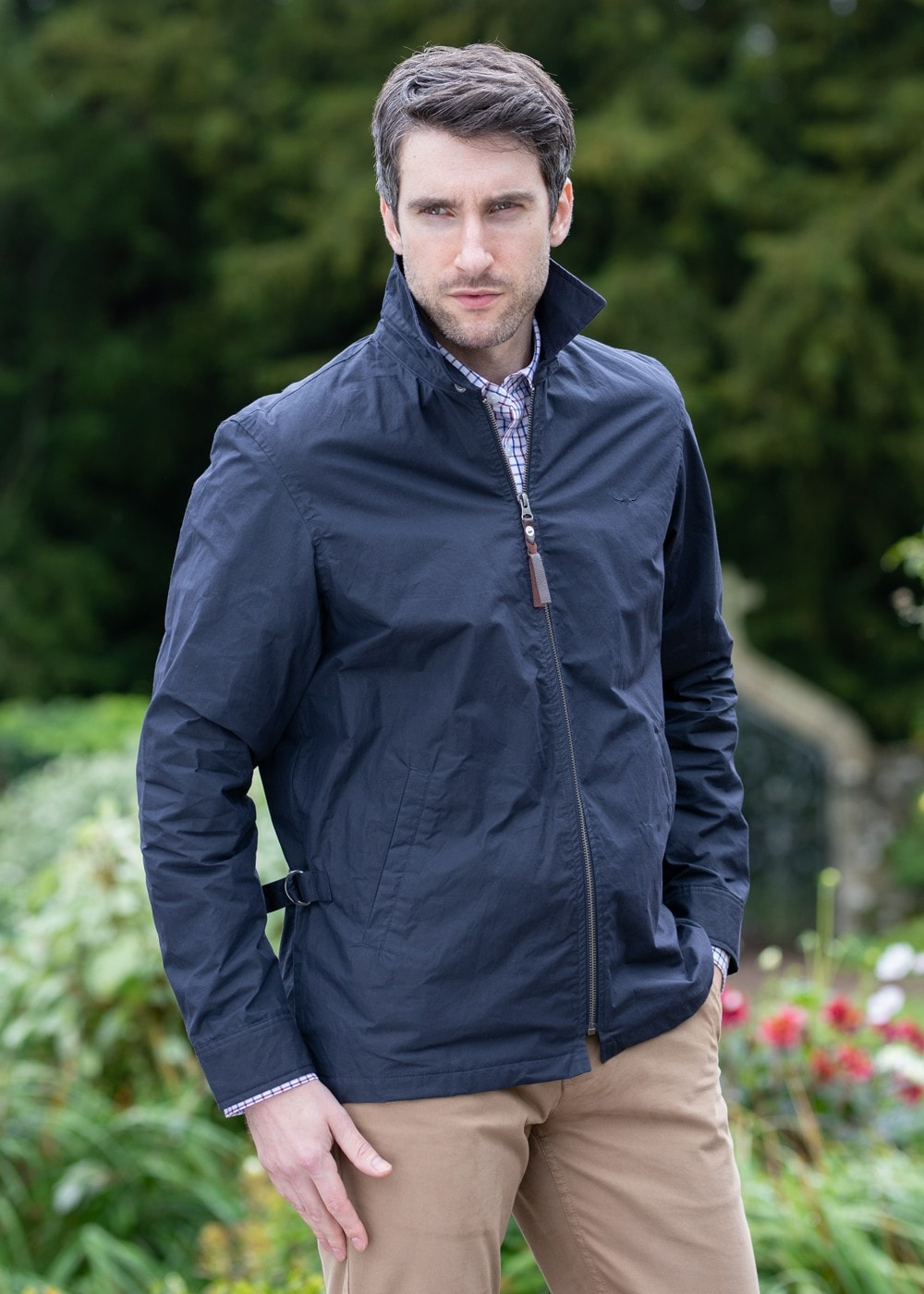 Rm Williams Harrington Jacket Mens From A Hume Uk