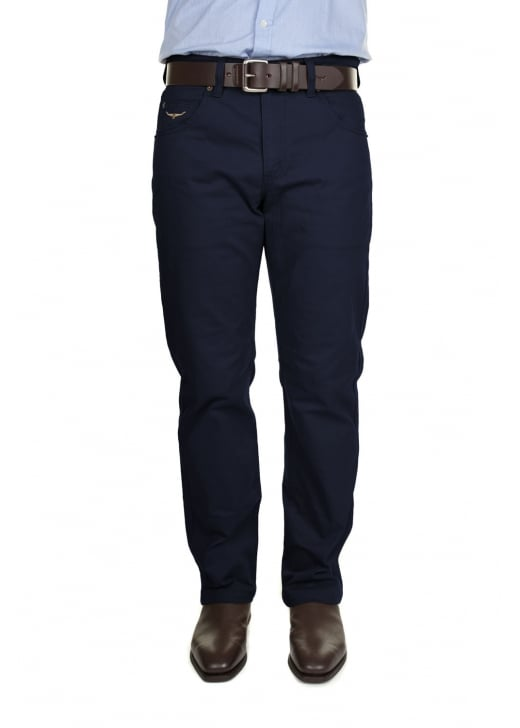 RM Williams Linesman Slim Fit Drill Jeans (Luxury Fabric)
