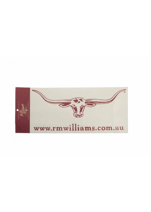 RM Williams Longhorn 40cm Decal