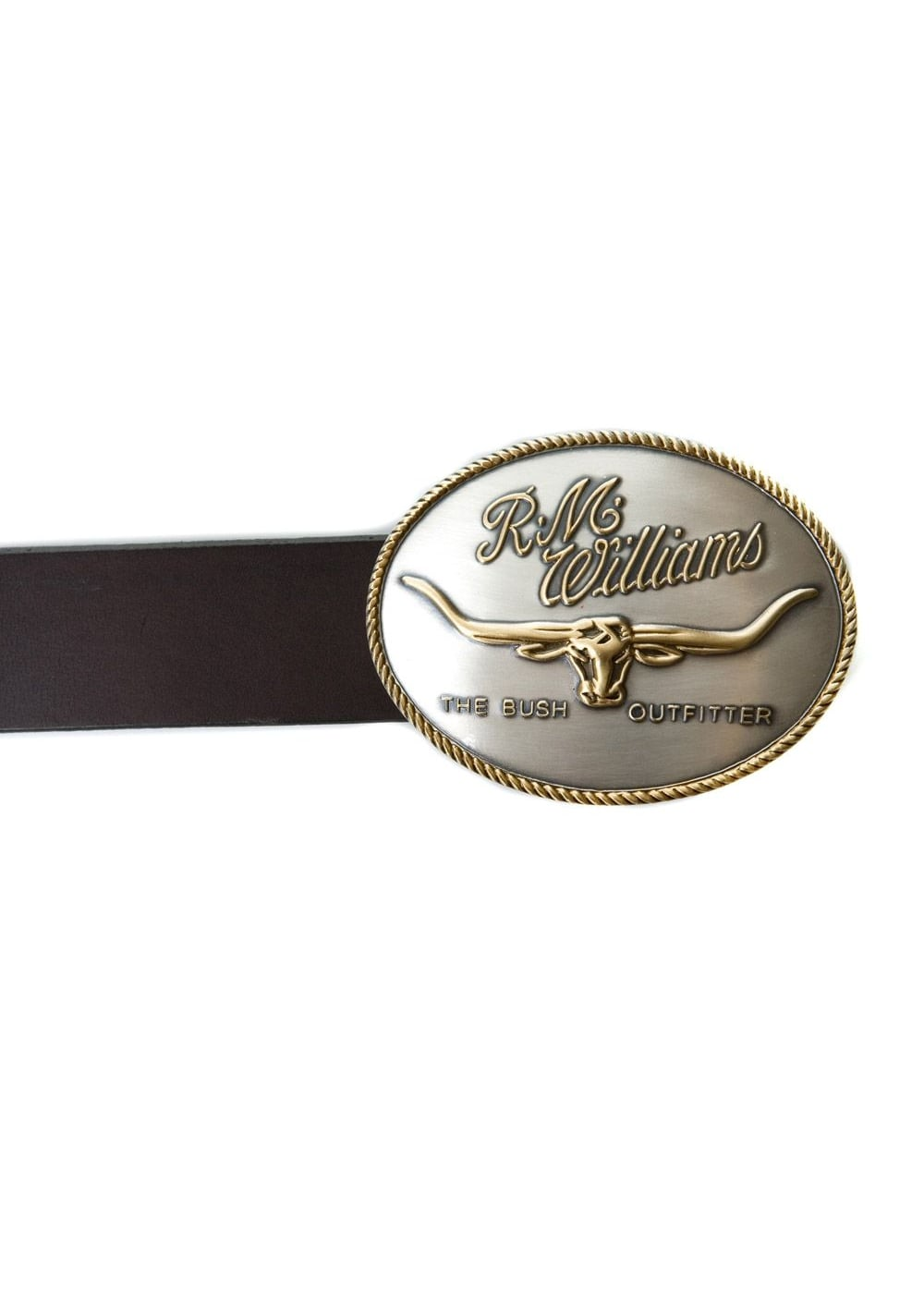 RM Williams Longhorn Trophy Buckle Large Image