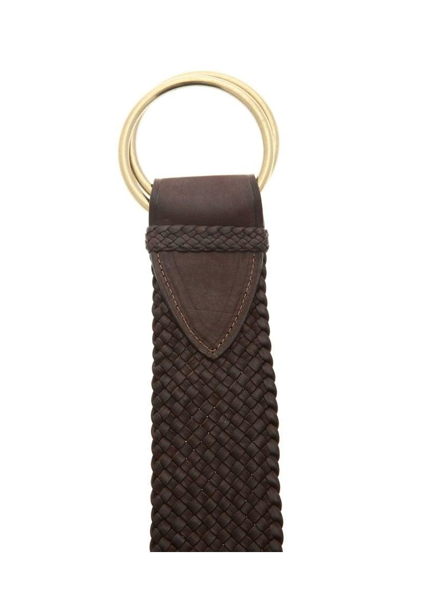 RM Williams Kangaroo Plaited Leather