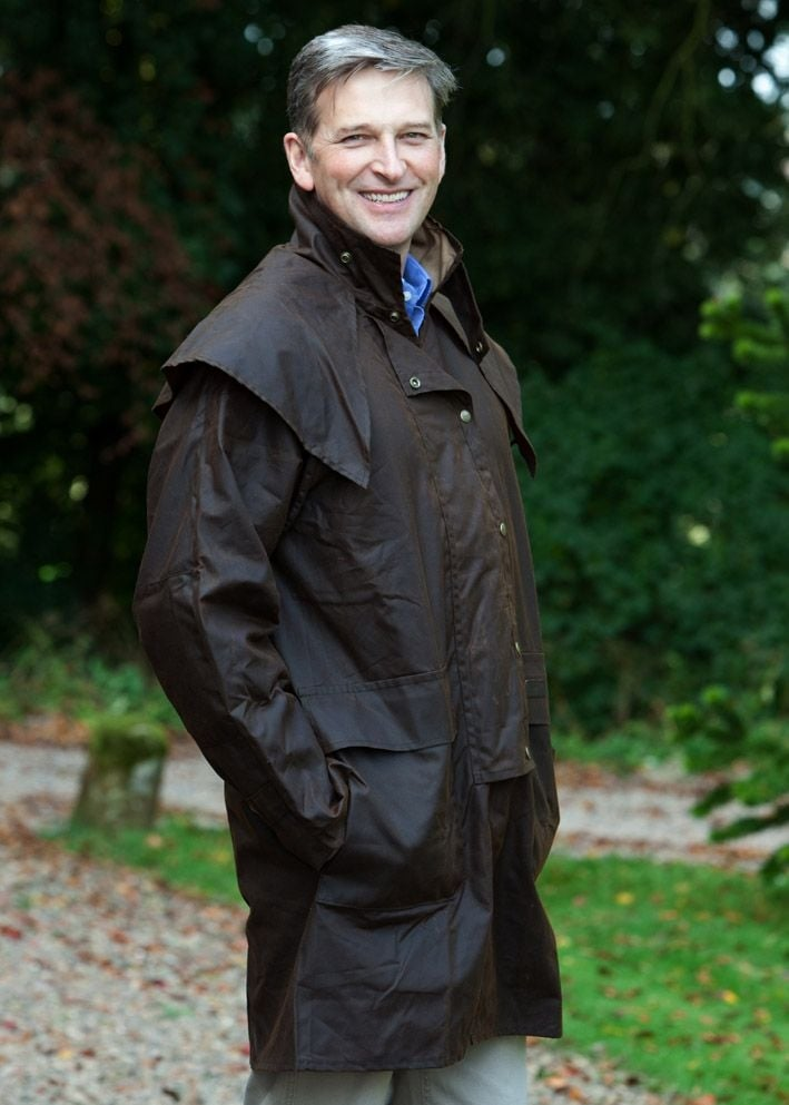 RM Williams Rouseabout Oilskin Jacket Large Image