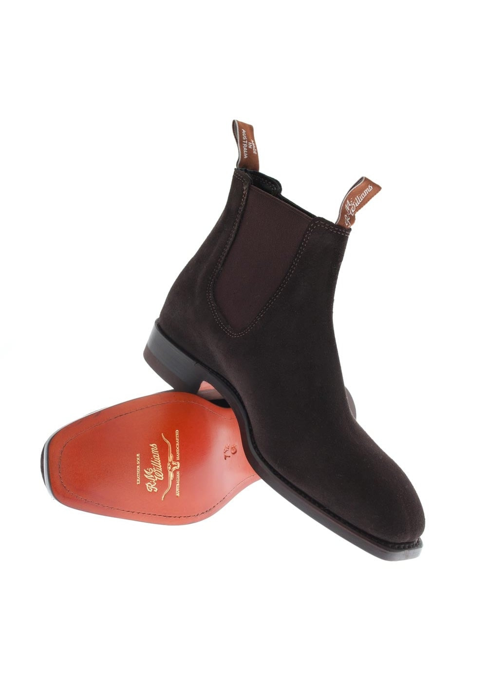 rm williams suede craftsman yearling boots a hume