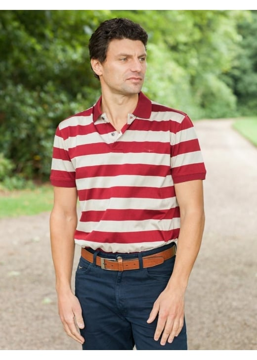 RM Williams Rod Stripe Polo