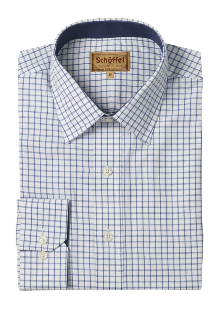 Schoffel Cambridge Check Shirt  Large Image