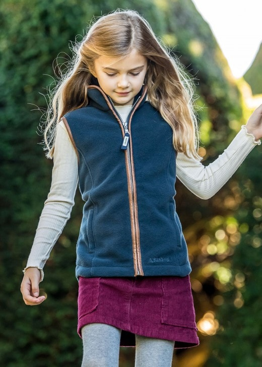 Schoffel Girls Lyndon Fleece Gilet