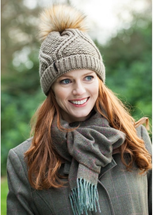 Schoffel House Tweed Scarf