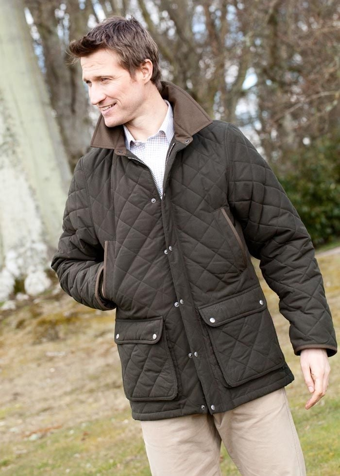 Schoffel Manton Quilted Jacket Large Image